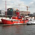Feuerschiff Elbe 1, heute Restaurant- und Hotelschiff