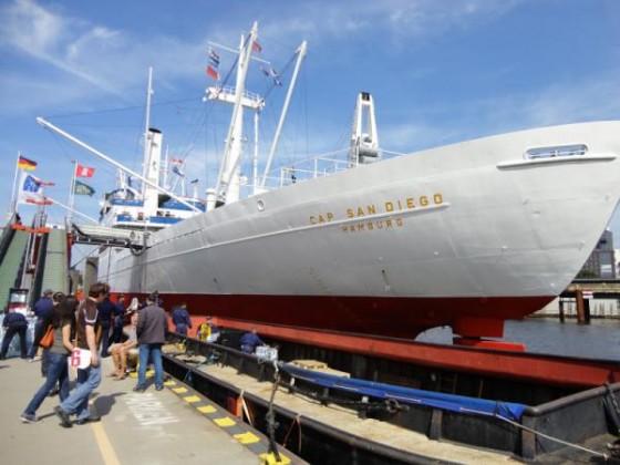 Cap San Diego - heute Museumsschiff