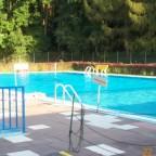 Unser Schwimmbad klein aber fein